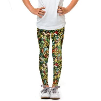 Youth Holiday Mixture Leggings