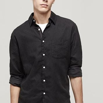 Rag & Bone - Beach Shirt, Black