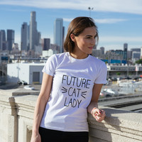 Future Cat Lady Women's T-shirt
