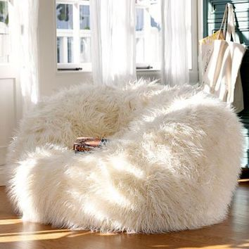 Faux Fur Bean Bag Chairs