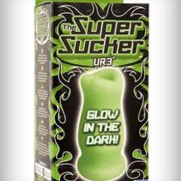 Doc Johnson 'Super Sucker' Glow-In-The-Dark Stroker