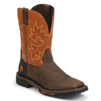 """Justin Men's 11"""" Hybred Western Work Boots"""