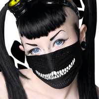 "Chill Pill ""CHESHIRE CAT"" raver surgical mask. Best Seller!"