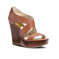 MICHAEL Michael Kors Elena Wedge Sandals