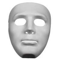 Halloween Party DIY Scary Masks White Full Face Cosplay Masquerade Mime Mask Ball Party Costume Masks