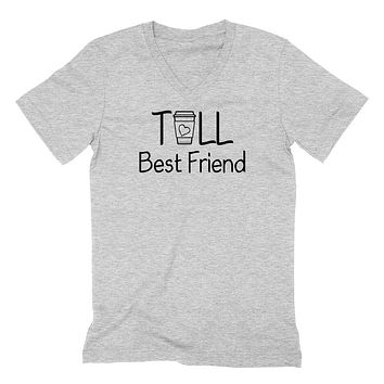 Tall best friend V Neck T Shirt
