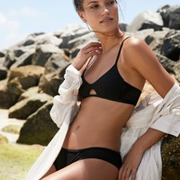 Free People Mesh Basic Bikini Bottom