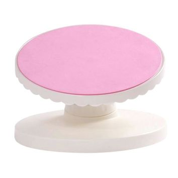 Anti-skid Turntable Rotating Pastry Cake Stand