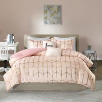 intelligent design bedding blush - Google Search