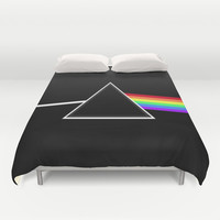 Side Of The Moon Duvet Cover by Timothy Davis