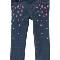 Gap Baby Factory Floral Skinny Fit Jeans