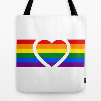 Love is love.  Tote Bag by Irmak Berktas