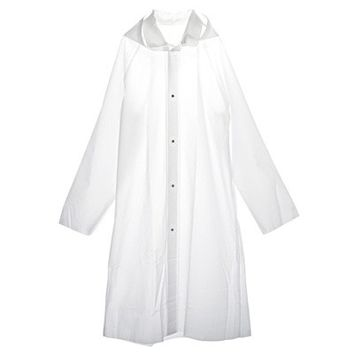 Welder Raincoat Freecut - Clear