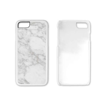 White Marble Phone Case, Phone Case Unique, Plastic Phone Case, Phone Case Custom, Phone Case, iPhone 6, iPhone 6s case, iPhone case