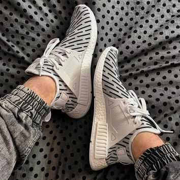 """""""Adidas"""" NMD XR1 PK Trending Women Men Casual Stripe Camouflage Running Sport Shoes Sneakers I"""