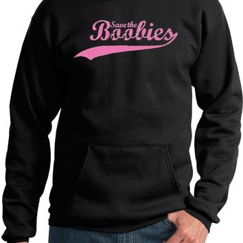 Breast Cancer Hoodie Save The Boobies