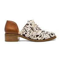 Matisse Quake Cow Hair Oxford in Tan
