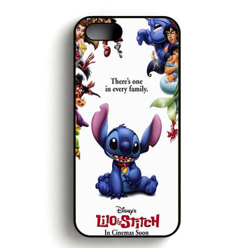 lilo and stitch disney iPhone 5, iPhone 5s and iPhone 5S Gold case