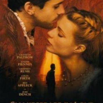 Shakespeare In Love movie poster Sign 8in x 12in