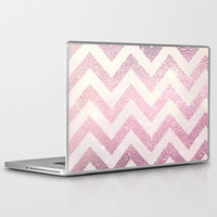 POWDER CHEVRON  Laptop & iPad Skin by M✿nika  Strigel	 | Society6