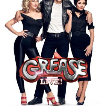 """Grease Live 2016 Poster 16""""x24"""""""