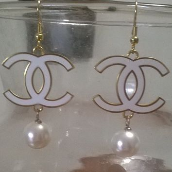 Gorgeous Gold Plated Designer Inspired Drop Earrings