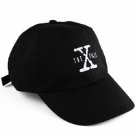 Shop :: Agora :: Hats :: 6 Panels :: X Files Glow in the Dark 6 Panel - Agora Clothing Products | Snapbacks | 5 Panels |