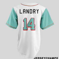 Jarvis Landry Juice Up Baseball Jersey