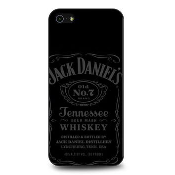 Jack Daniels Tennessee Whiskey Grey iPhone 5 | 5S Case