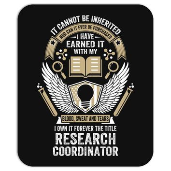 I Own It Forever The Title Research Coordinator Mousepad