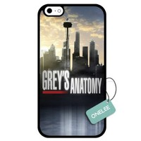 Onelee - Customized Grey's Anatomy TPU Apple iPhone 6 Case Cover - Black 01