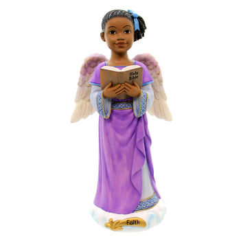 Black Art FAITH ANGELS OF INSPIRATION African American Religious 71017