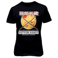 9164 HATTORi HANZO SWORDS CRAFTiNG Unisex T-SHiRT KiLL BiLL pulp fiction grindhouse tarantino martial arts