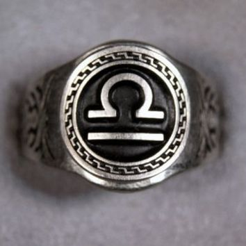 Zodiac rings All Signs Astrology Sign Jewelry  Sizes 7 to 14 Your Choice