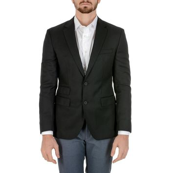 Hugo Boss Mens Jacket Long Sleeves Black JET