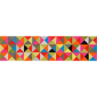 colored crystal runner in new rugs/pillows | CB2