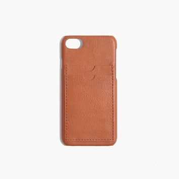 Leather Carryall Case for iPhone® 6/7 : shopmadewell AllProducts | Madewell
