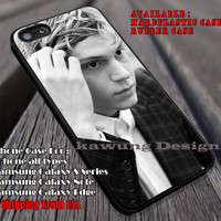 Handsome | Evan Peters | American Horror Story iPhone 6s 6 6s+ 6plus Cases Samsung Galaxy s5 s6 Edge+ NOTE 5 4 3 #movie #AmericanHororStory ii