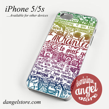 Taylor Swift Songs Phone case for iPhone 4/4s/5/5c/5s/6/6 plus
