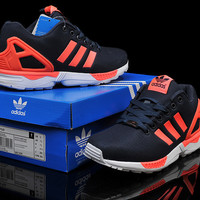Adidas ZX Flux (Black/Orange) - ZXF003