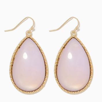 Afterglow Large Teardrop Earrings   Fashion Jewelry - Delicate 1   charming charlie