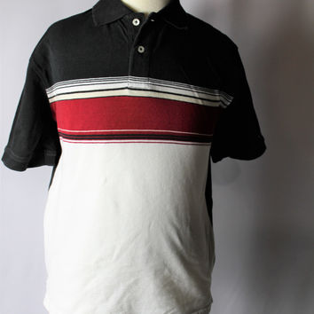 Boys Tommy Hilfiger Polo Style Short Sleeve Top, size Medium
