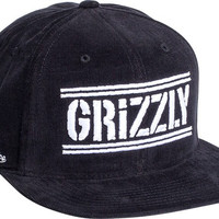 Grizzly Hunter Hat Adjustible Black