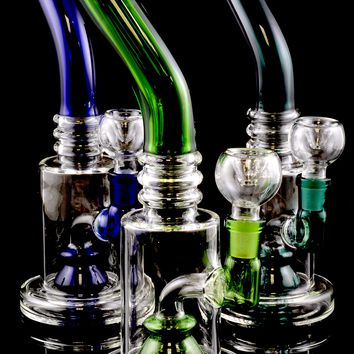 Small Stemless GoG Water Pipe with Stemline Perc - WP1351
