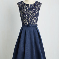 Lovely in Lyons A-Line Dress | Mod Retro Vintage Dresses | ModCloth.com