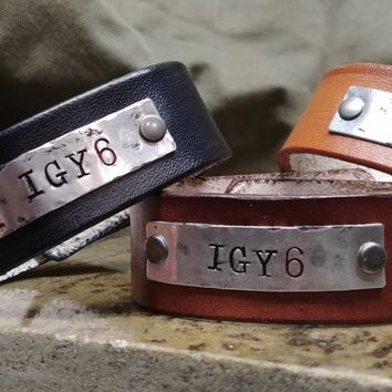 IGY6 Handmade Leather Bracelets
