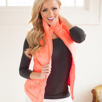 Ready for the Hike Vest in Neon Orange