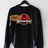 Anatomy Park Sweatshirt Men And Women Unisex Size