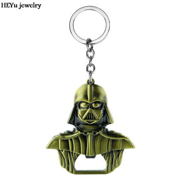 Hot Star Wars Darth Vader Metal Alloy Bar Beer Bottle Opener key chains star wars keychain Purse Buckle Bar Party Accessories