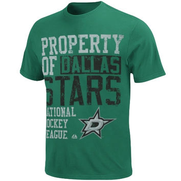 Majestic Dallas Stars Wild Double Minor T-Shirt - Green
